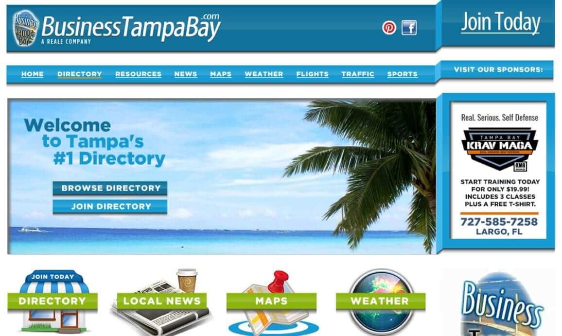 BusinessTampaBay.com by ProDeveloper