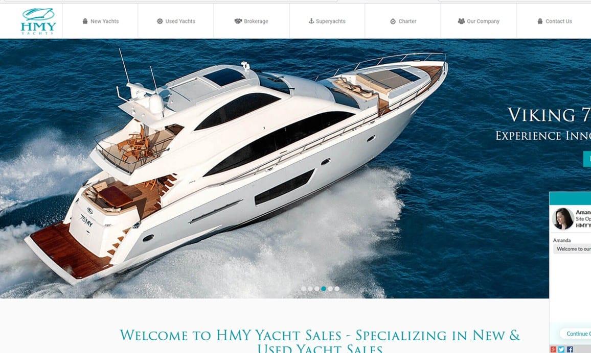 ProDeveloper Client HMY Yacht Brokerage